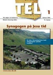 Synagogen på Jesu tid - Selskab for Bibelsk Arkæologi