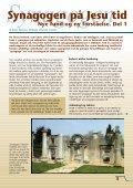 Synagogen på Jesu tid - Selskab for Bibelsk Arkæologi - Page 3