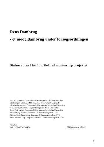 Rens Dambrug - et modeldambrug under ... - AquaCircle