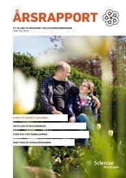 Årsrapport 2009 - Scleroseforeningen