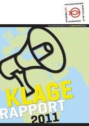 folkekirkens nødhjælp klagerapport 2011