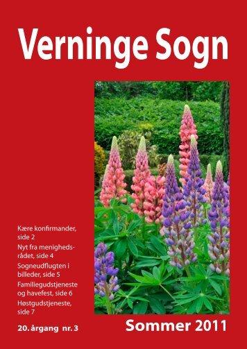 2011 Sommer Kirkeblad.indd - Verninge Kirke