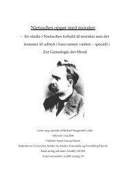 Nietzsches opgør med moralen - Velkommen til Lykke IT