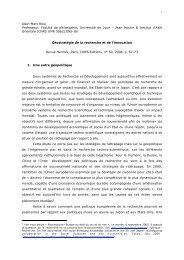 Alain-Marc Rieu Professeur, Faculté de philosophie, Université de ...