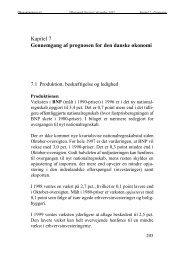 Kapitel 7 Gennemgang af prognosen for den danske økonomi