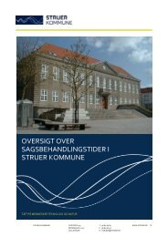 Sagsbehandlingstider i Struer Kommune_revideret August 2012