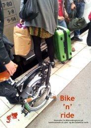 Bike 'n' ride - Öresund som cykelregion