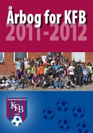 Årbog for KFB 2011-2012 - Senior - DBU