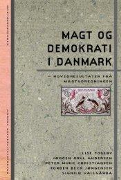 Magt og demokrati i Danmark - Aarhus Universitetsforlag