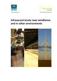 Infrasound Levels near Wind Farms and in ... - EPA - SA.Gov.au