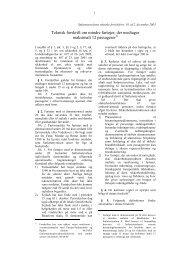 Teknisk forskrift om mindre fartøjer, der medtager maksimalt 12 ...