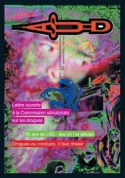 60 ans de LSD - Asud
