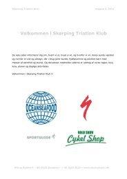 info-hæfte - Skørping Triathlon Klub