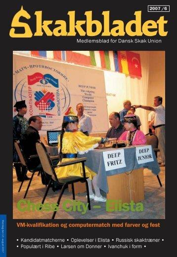 Chess City – Elista - Dansk Skak Union