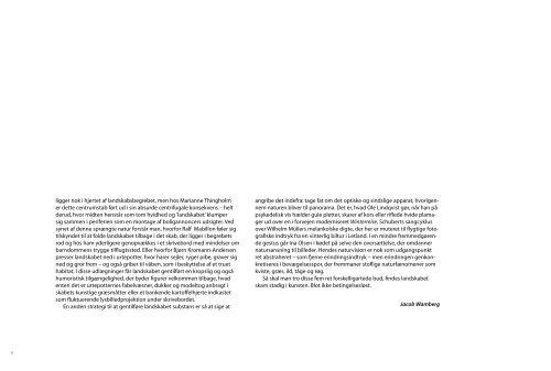 Katalog – Landet ud af skabet - KONTEKST