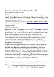 Referat fra regionalmøde i kemi d - Emu