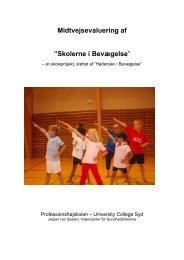 """Midtvejsevaluering af """"Skolerne i Bevægelse"""" - Haderslev i ..."""
