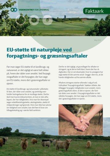 og græsningsaftaler - Smag på Landskabet