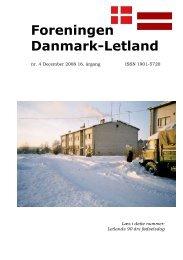 Blad nr. 4 - 2008 - Foreningen Danmark - Letland