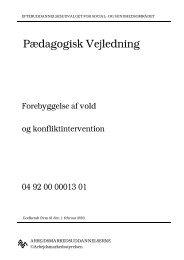 Forebyggelse af vold og... - EPOS