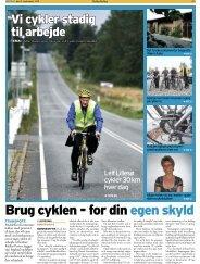 Indstik til Melfarposten - Cykler uden grænser