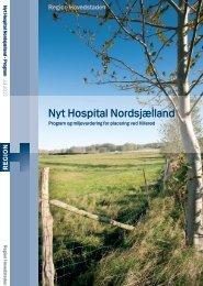 Program og miljøvurdering for Nyt Hospital Nordsjælland - Region ...
