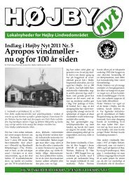 Vindmøller gennem 100 år - Højby Nyt