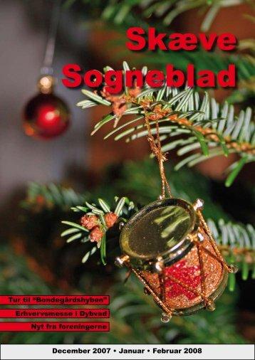December 2007 • Januar • Februar 2008 Tur til - Skæve - Hørby Sogne