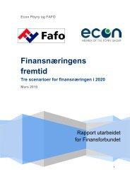 Finansnæringens fremtid - Finansforbundet