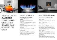 Generel infofolder om bygas - Aalborg Forsyning