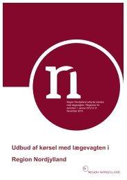 Udbud af kørsel med lægevagten i Region Nordjylland