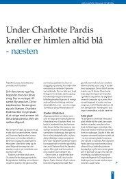 Under Charlotte Pardis krøller er himlen altid blå - næsten - Emu