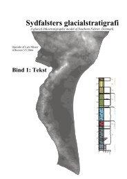 Sydfalsters Glacialstratigrafi Bind 1 (pdf 4,2 MB) - Misser