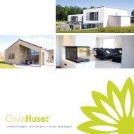 : individuelt byggeri : faste lave priser : energi-rigtigt ... - Give Huset