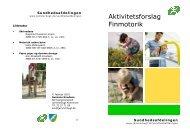Aktivitetsforslag Finmotorik - Jammerbugt Kommune
