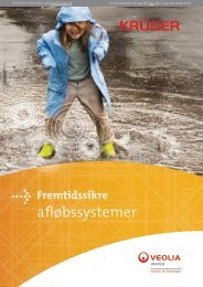 Fremtidssikre afløbssystemer. (PDF - 5.4MB) - Krüger A/S