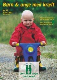 Børn & unge med kræft - Familier med kræftramte børn