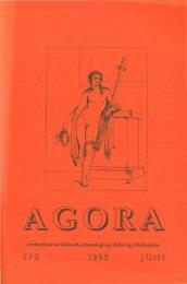 Holdningen til ægteskab og børn i romersk kejsertid - e-agora