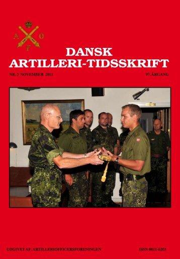 DAT nr. 3 - 2011 - Artilleriofficersforeningen