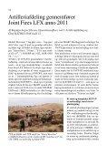 DAT nr. 3 - 2011 - Artilleriofficersforeningen - Page 6