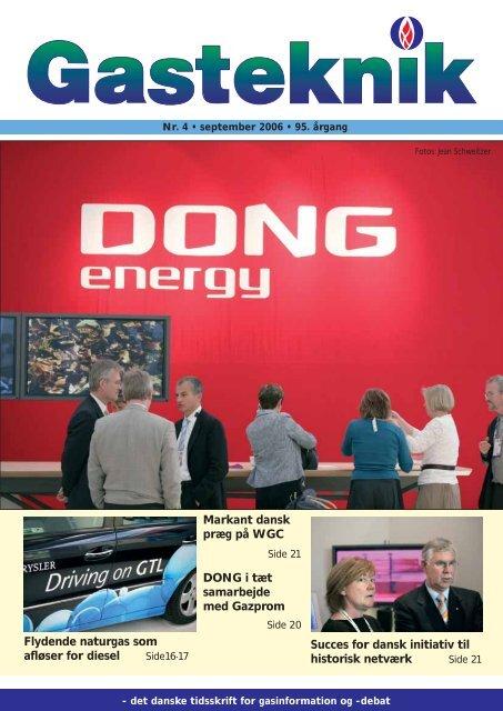 Gasteknik nr. 4, september 2006 [PDF] - Dansk Gas Forening