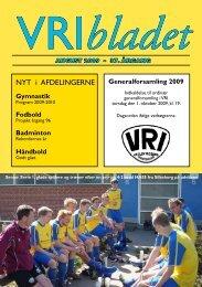 Blad nr. 1 årg. 2009 - Vejlby-Risskov Idrætsklub