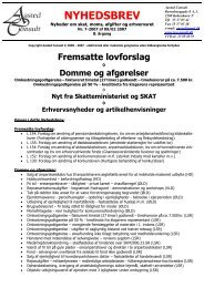 NYHEDSBREV - Aasted Consult