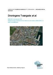 Udgravningsberetning Dr. Tværgade m.fl. (KBM3904) - Københavns ...