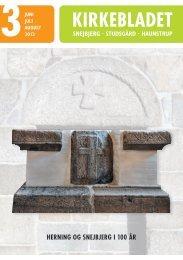 Kirkeblad Juni Juli Aug. 2013. - Snejbjerg Kirke