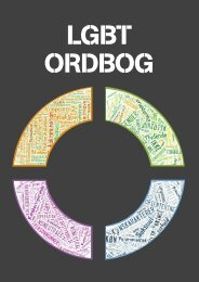 LGBT-ordbogen - Landsforeningen for bøsser og lesbiske