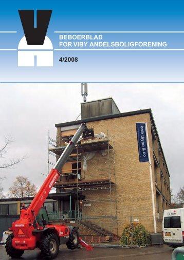 beboerblad for viby andelsboligforening 4/2008 - LiveBook