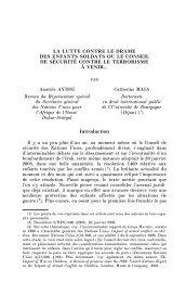 article en pdf - RTDH - Revue trimestrielle des droits de l'homme