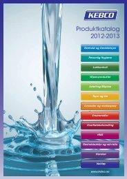 Produktkatalog 2012-2013 - Kebco