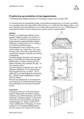 Komponent projektering og produktion, Danhaus